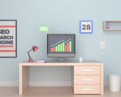 SEO Desk Image